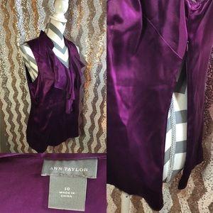 Ann Taylor silky shirt